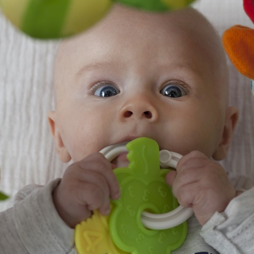 Cleaning your baby's toys is important, but how much is ideal?