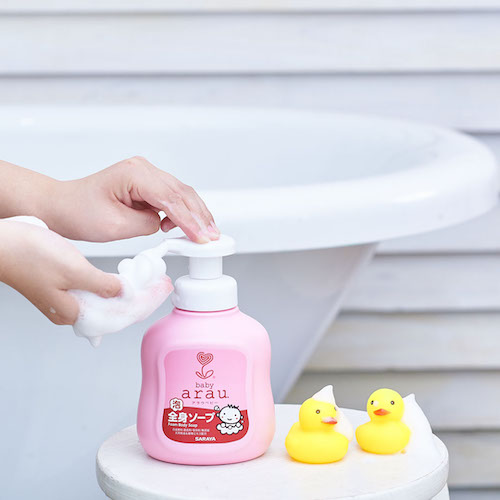 Don't forget to also clean the bath time toys!